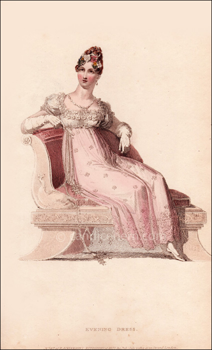 Evening Dress July 1814