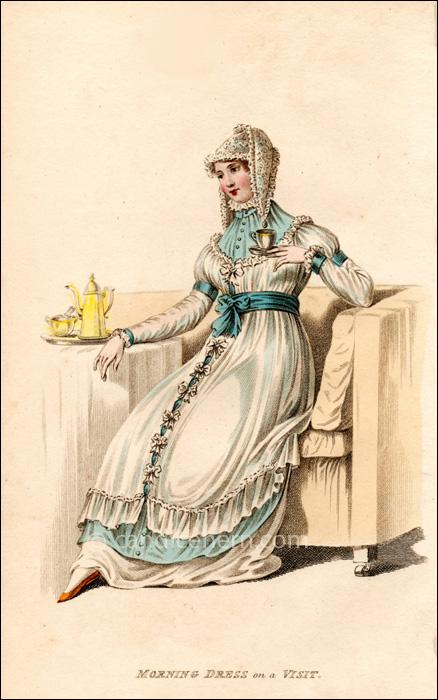 Monring Dress October 1810