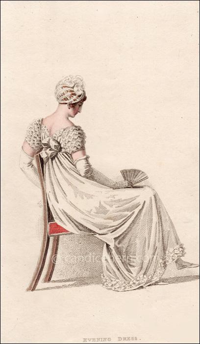 Evening Dress Augiust 1815