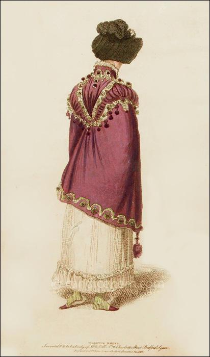 Walking Dress January 1815