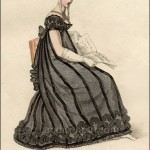 Evening Mourning Dress February 1819