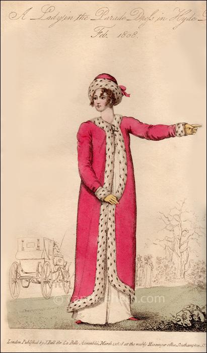 Promenade Dress February 1808