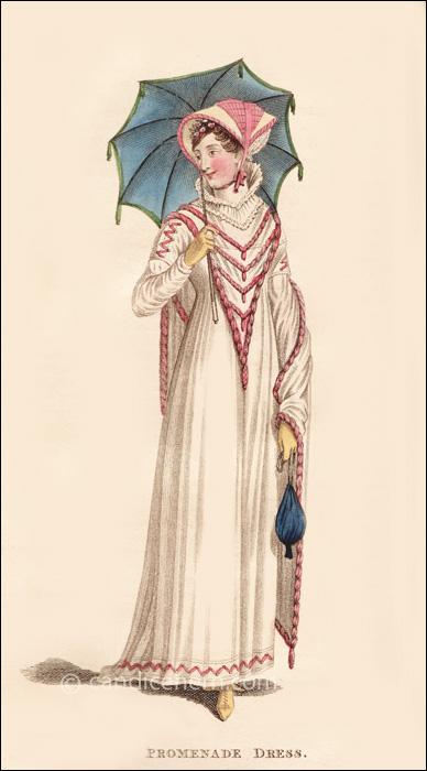 Promenade Dress August 1811