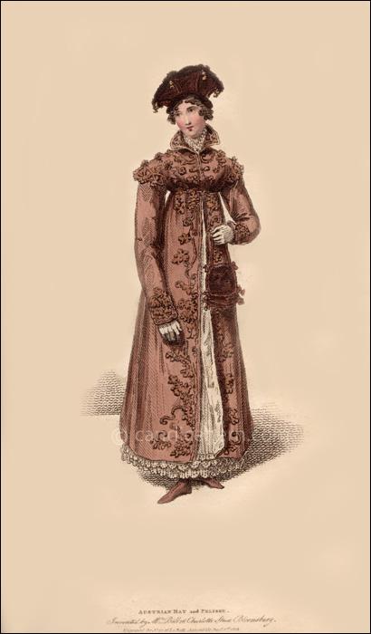 Promenade Dress December 1815