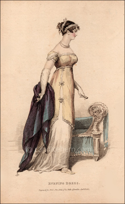 Evening Dress January 1813