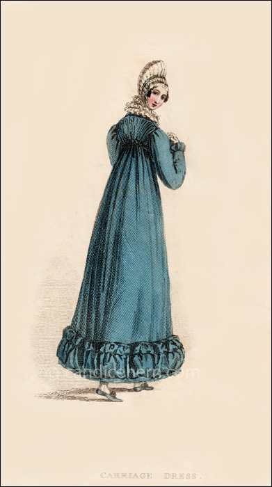 Carriage Dress January 1816