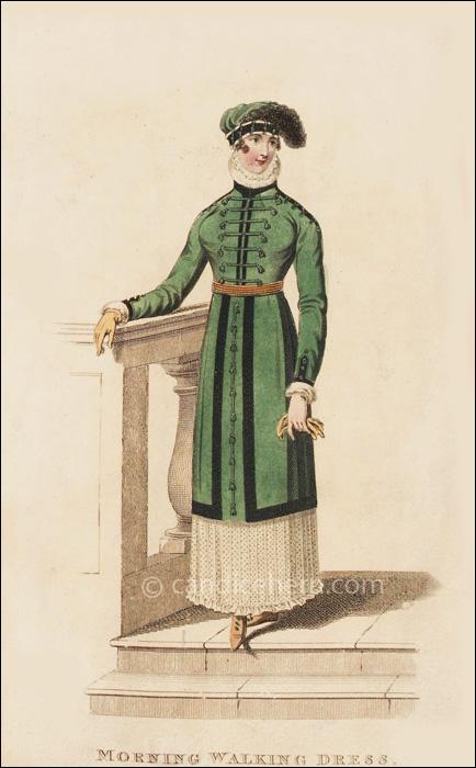 Morning Walking Dress April 1812