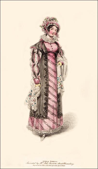 Opera Dress April 1816