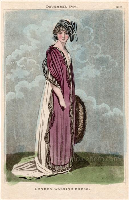 Walking Dtess December 1799