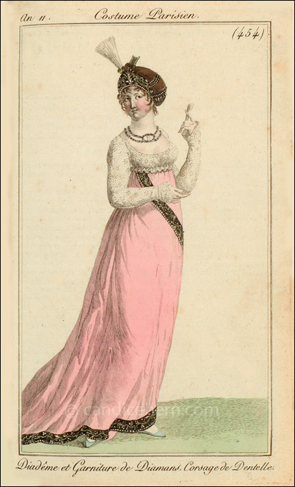 French Evening Dress March 1803