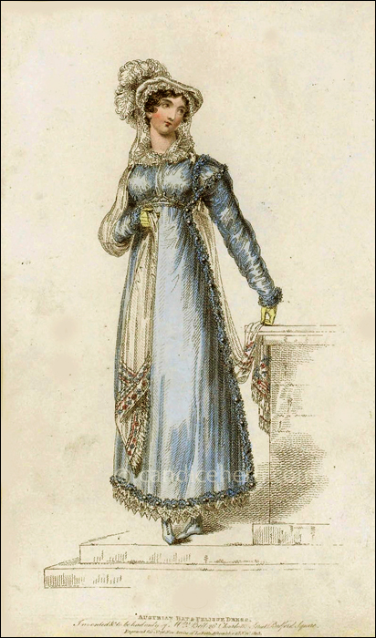 Walking Dress November 1815