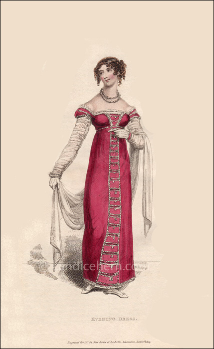 Evening Dress January 1814